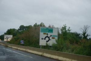 ペルピニャンへの途中