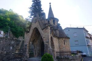 リポイの教会、ガウディ―の弟子作