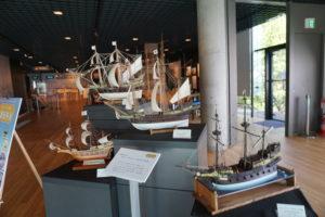 サンファン・パーク船の模型