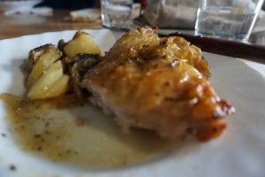 ゴーリツ小屋の夕食