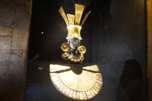 アンデス文明黄金の甲冑
