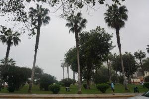 リマホテル前の広場