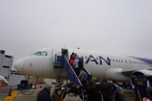 ペルー国内線飛行機
