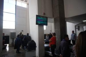 クスコ空港到着