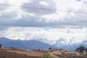 アンデスの景色
