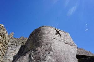 マチュピチュの太陽の神殿
