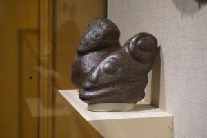 マチュピチュから発掘された石像