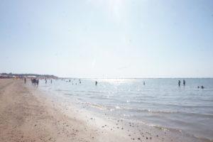 サンルーカルのビーチ