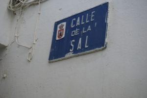 サンルーカルの塩通り