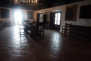 ララビダ修道院内部
