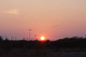 マサゴンの夕陽