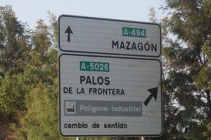 マサゴンの標識
