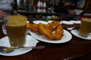 グアダルーペの朝食バル