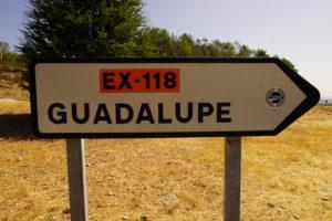 グアダルーペの標識