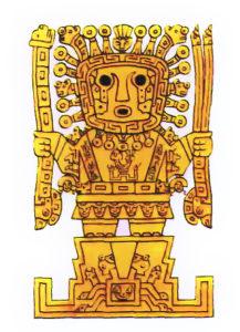 インカの神様ビラコチャ