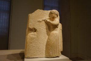 オス―ナの彫刻