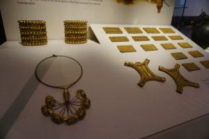 タルテッソスの金の装飾品