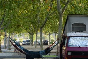 ログローニョの泊まった駐車場