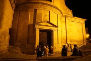 サント・ドミンゴ・デ・シロスの教会