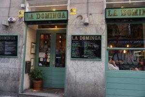 ラ・ドミンガ入口