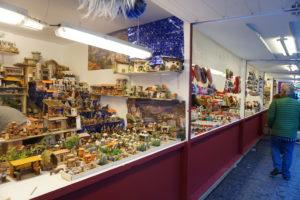 マヨール広場のクリスマスマーケット