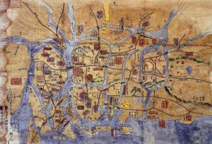 石山本願寺の戦い配陣図