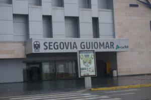 セゴビアギオマールの駅