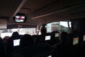 セゴビアからマドリードのバス