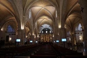 バレンシア大聖堂内部