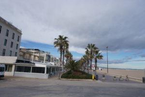 バレンシア、マルバロッサ海岸