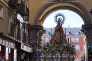 アルムデナの聖母のお祭り