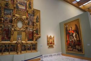 バレンシア美術館中世絵画