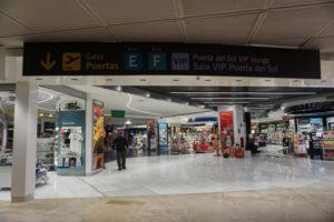 マドリードの空港