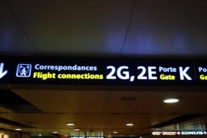 パリシャルルドゴール空港乗り継ぎ