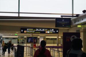 パリ、シャルルドゴール空港乗り継ぎ