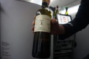 エアーフランス、ビジネスクラス、ワイン