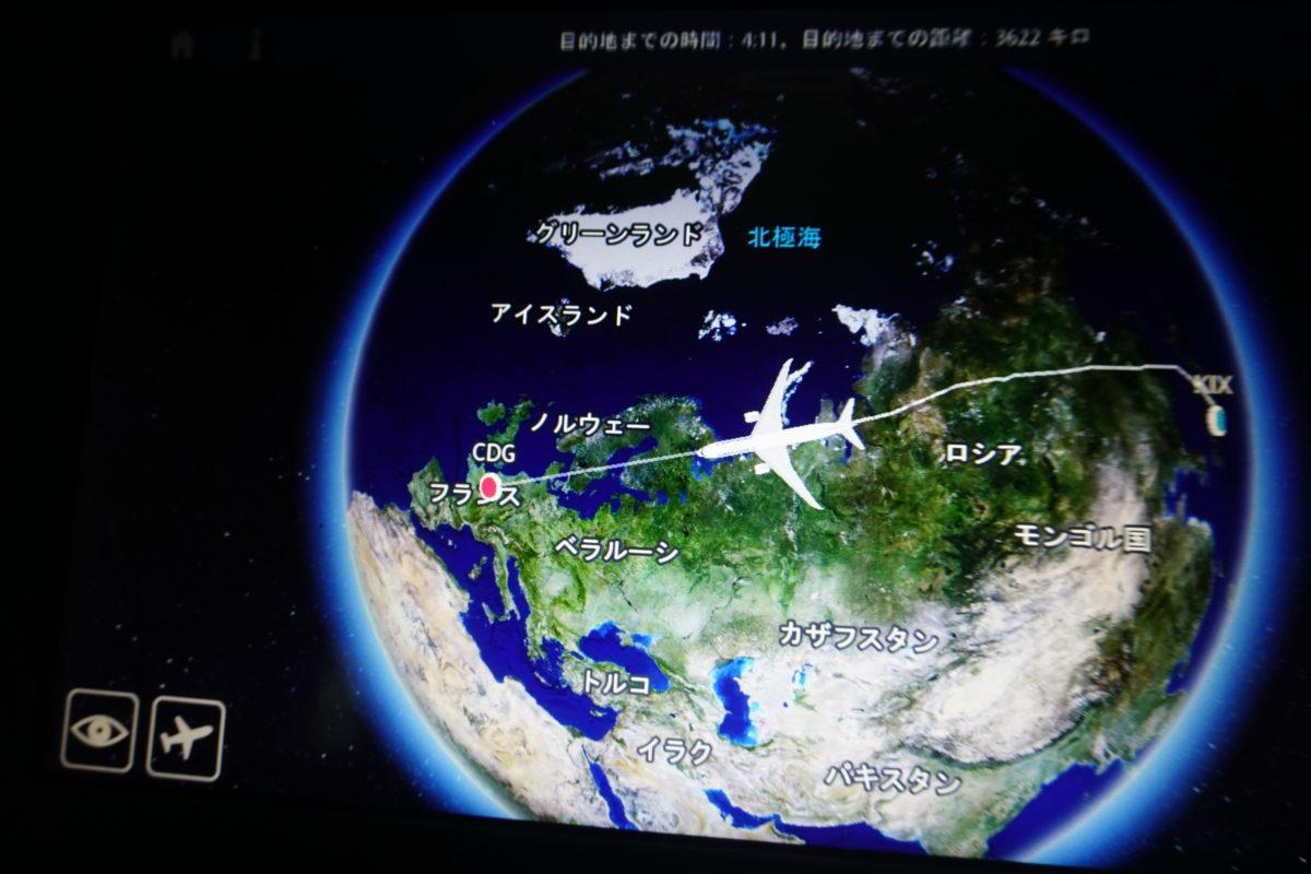 パリ・シャルルドゴール空港のターミナル2E~F乗り継ぎとエアーフランス・ドリームライナーのビジネスクラス