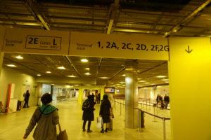 パリ シャルルドゴール空港ターミナル2