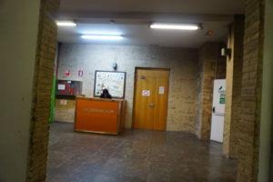バレンシア中央市場トイレ