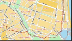 バレンシアの市バス