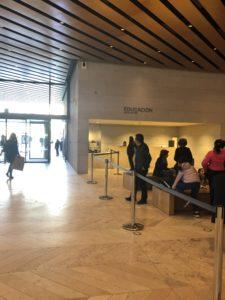 プラド美術館の特別展入り口