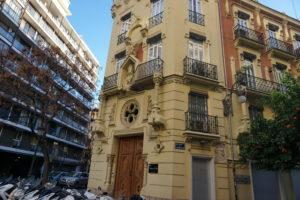 バレンシア、モデルニズム建築