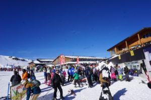 シエラネバダ、スキー場ボレギレス