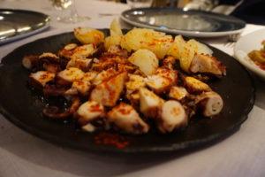 マドリード海鮮料理アトラパジャーダ