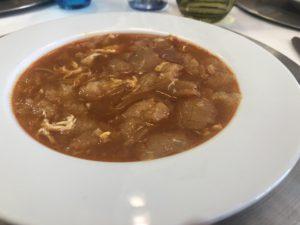 スペイン料理ニンニクスープ