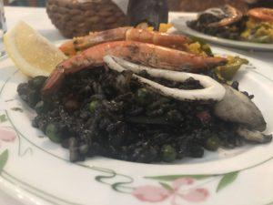 スペイン料理、アロッスネグロ