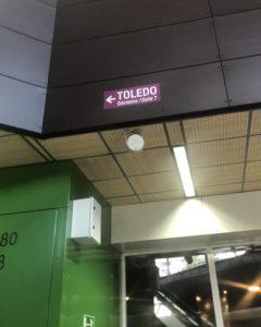 トレド行きバスターミナル
