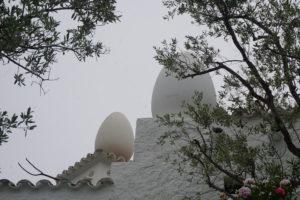 ダリの家の卵