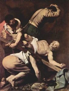 カラバッジオ聖ペテロの逆さ十字