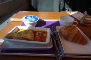スペイン新幹線、食事